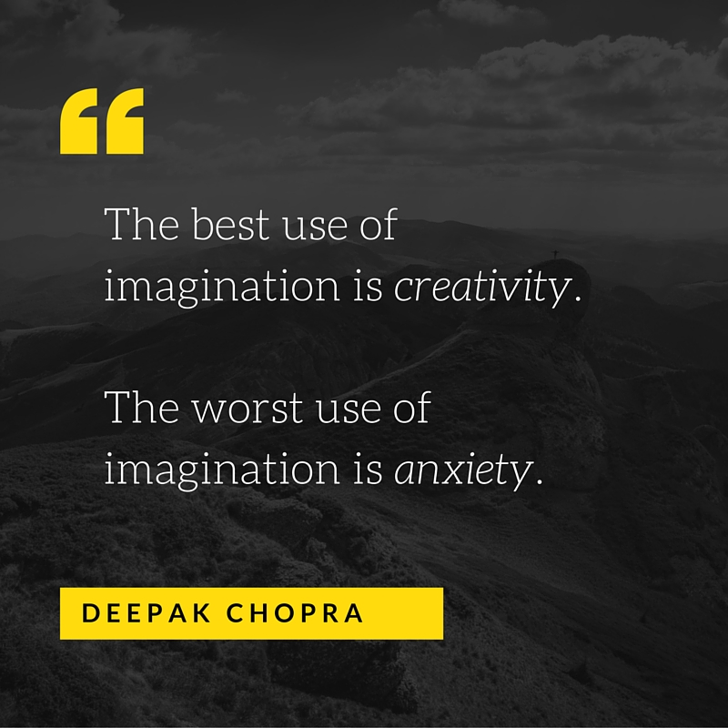 The best use of imagination is creativity.